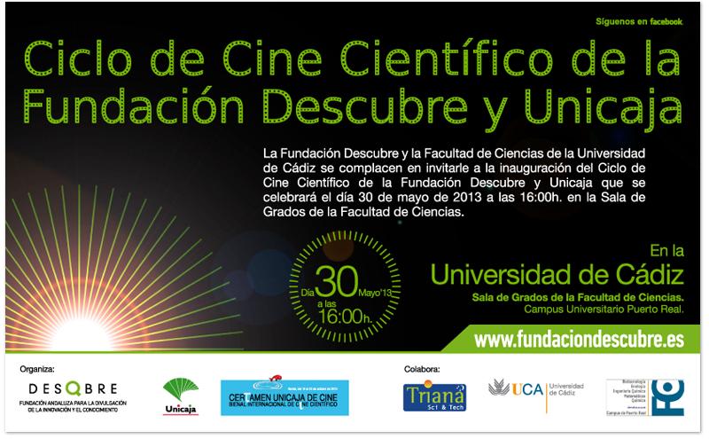 Ciclo Cine Científico