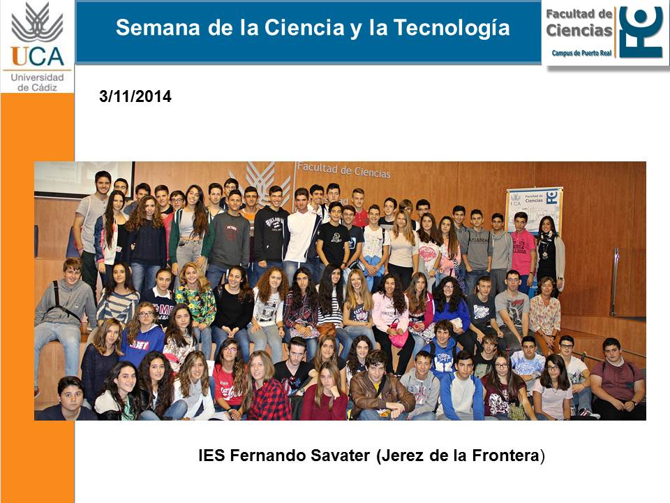 Programa ScienceTech 2015