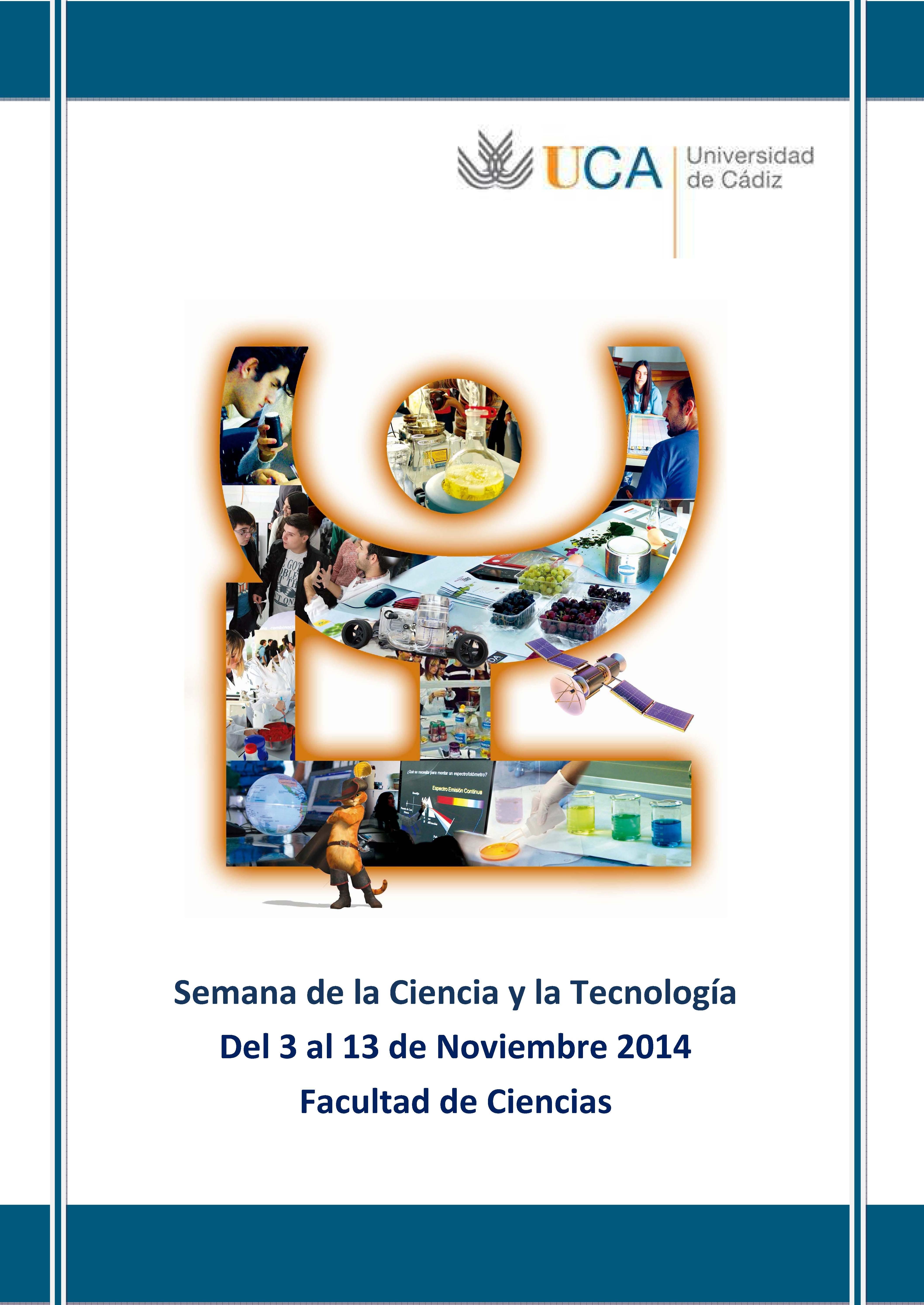 Semana de la Ciencia y la Tecnología. 6 de Noviembre.