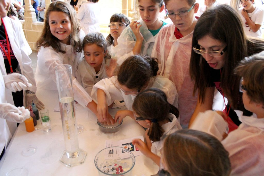 Jornadas de Bienvenida de los alumnos de nuevo ingreso de la Facultad de Ciencias