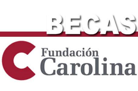 ABIERTA LA CONVOCATORIA DE BECAS FUNDACIÓN CAROLINA 2017/2018