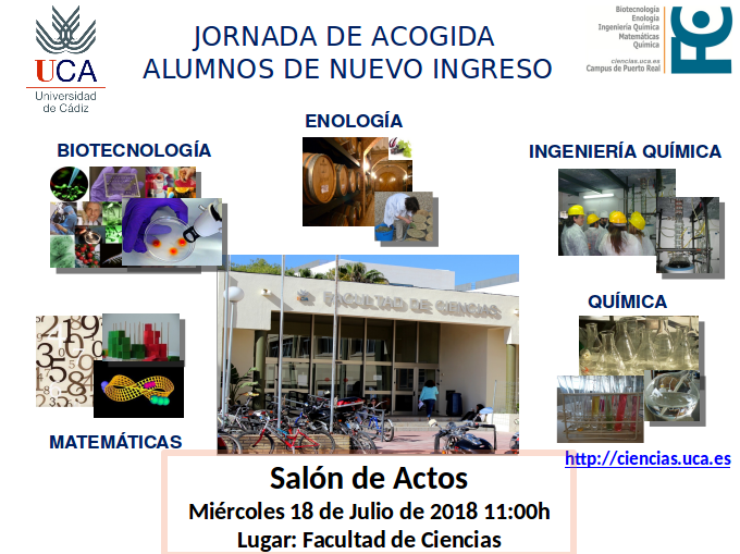 JORNADA DE ACOGIDA 2018