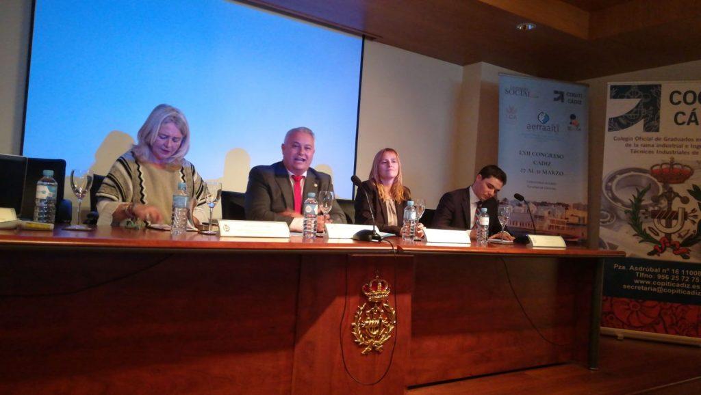 LXII Congreso AERRAAITI 2019 en la Universidad de Cádiz