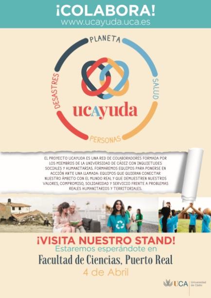 Presentación del proyecto ucAyuda en nuestro centro.