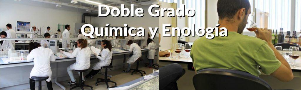 Doble Grado en Química-Enología