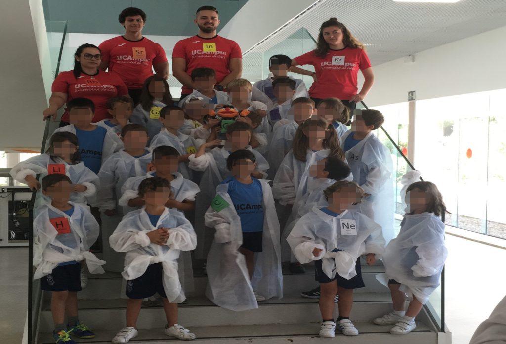 Visita VII UCAmpus Infantil de Verano Universidad de Cádiz