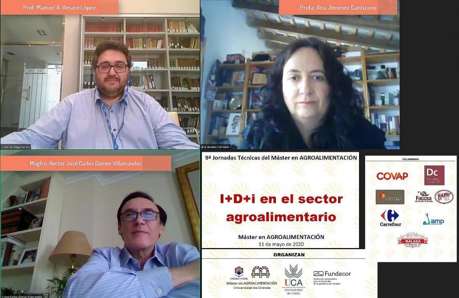 El Máster en Interuniversitario en Agroalimentación celebra online sus jornadas de I+D+i en Agroalimentación