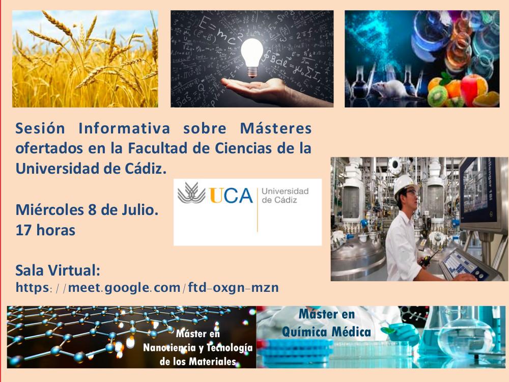 IMG Sesión informativa de Másteres de la Facultad de Ciencias