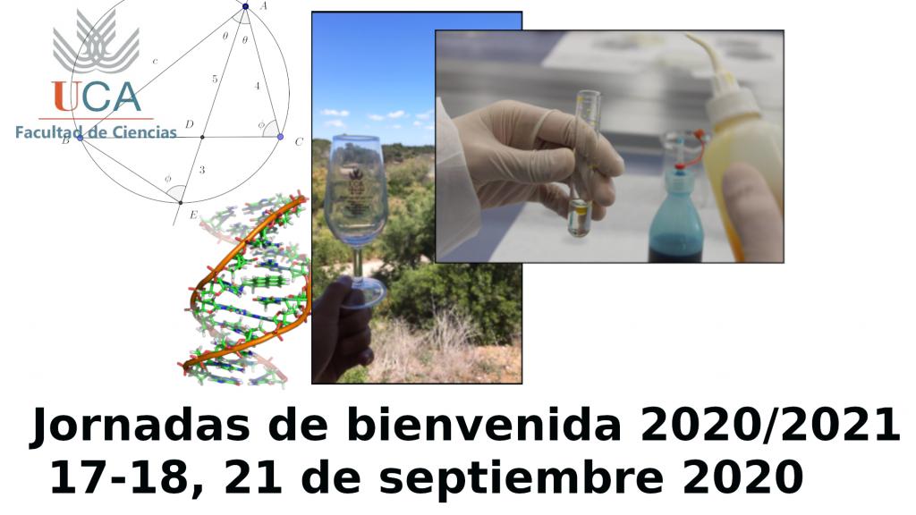IMG Jornadas de bienvenida 2020/20201 – 17, 18, 21 septiembre 2020